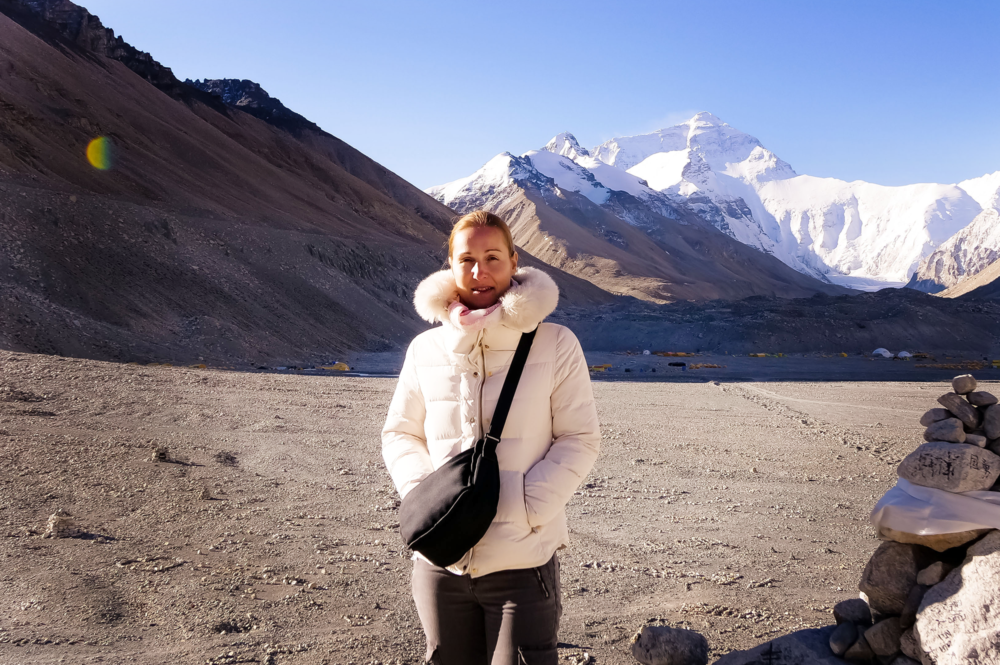 Mar Pages Community Manager Solo Female Travellers at Everest Base Camp