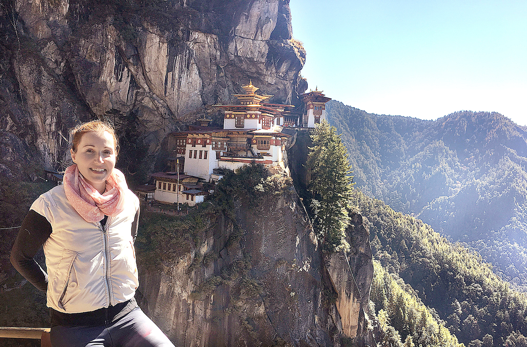 Mar Pages Community Manager Solo Female Travellers in Bhutan